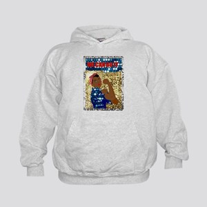 african rosie the riveter Sweatshirt