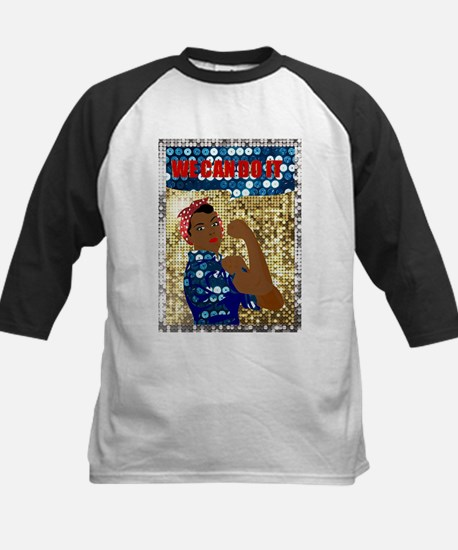african rosie the riveter Baseball Jersey
