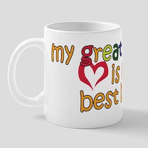 Great Grandpa is My Best Buddy Mug