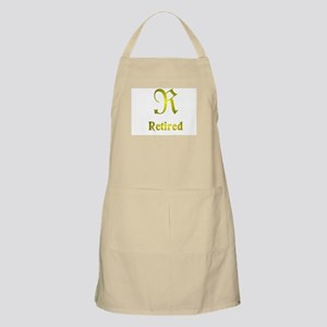 The big R. BBQ Apron