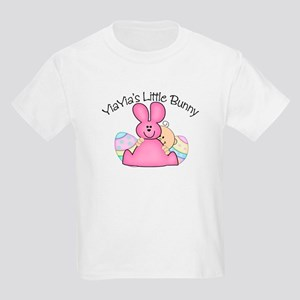YiaYia's Little Bunny GIRL Kids Light T-Shirt
