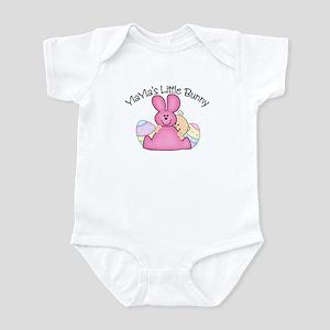 YiaYia's Little Bunny GIRL Infant Bodysuit