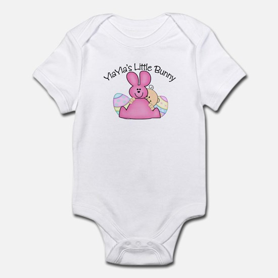YiaYia's Little Bunny GIRL Infant Bodysuit