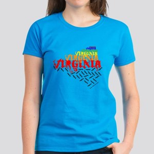 Colorfall Virginia Women's Dark T-Shirt