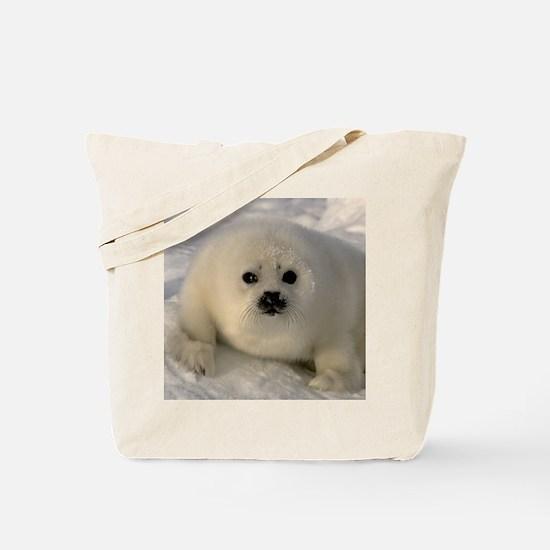 Baby Seal Tote Bag
