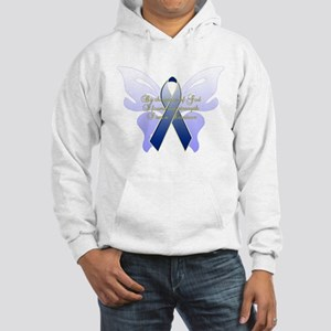 COLON CANCER Hooded Sweatshirt