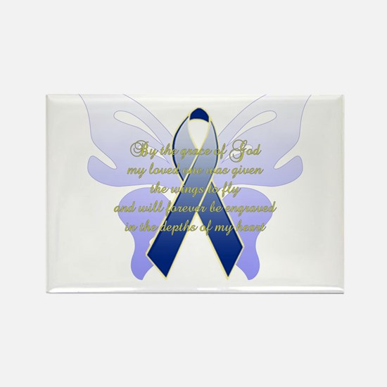 COLON CANCER Rectangle Magnet (10 pack)