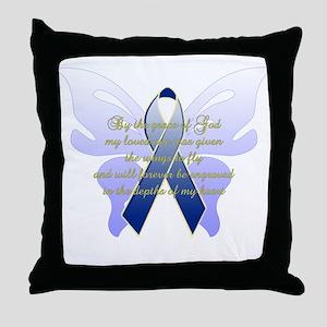 COLON CANCER Throw Pillow