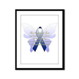 COLON CANCER Framed Panel Print