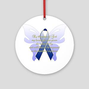 COLON CANCER Ornament (Round)