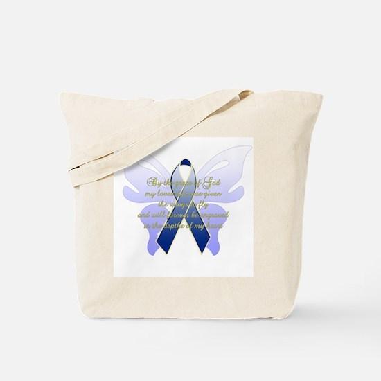 COLON CANCER Tote Bag