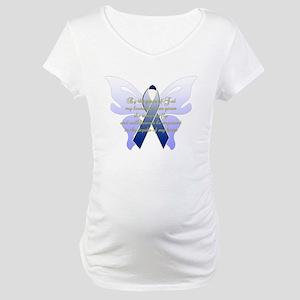 COLON CANCER Maternity T-Shirt