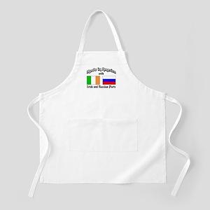 Irish-Russian BBQ Apron