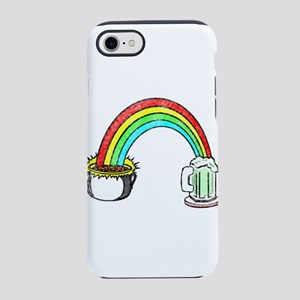 St Patrick's Day Rainbow Of iPhone 8/7 Tough Case