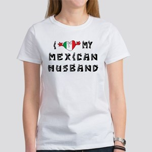 I Love My Mexican Husband Women's T-Shirt