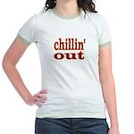 """CHILLIN' OUT Jr. Ringer T-Shirt"