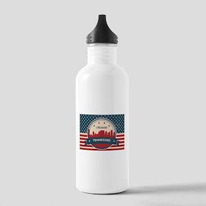 Retro Nashville Tennes Stainless Water Bottle 1.0L
