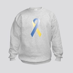 BlueYellow Ribbon Kids Sweatshirt