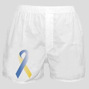 BlueYellow Ribbon Boxer Shorts