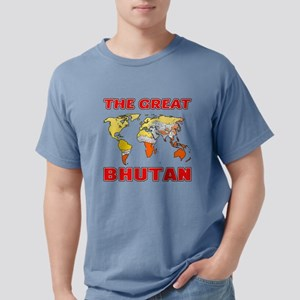 The Great Bhutan Designs Mens Comfort Colors Shirt