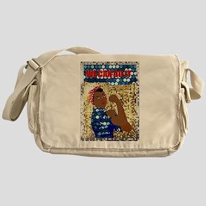african rosie the riveter Messenger Bag