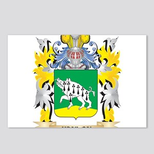 Hanlon Coat of Arms - Fam Postcards (Package of 8)