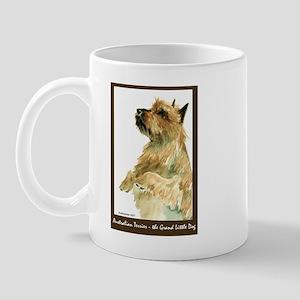 Red Australian Terrier Begging Mug