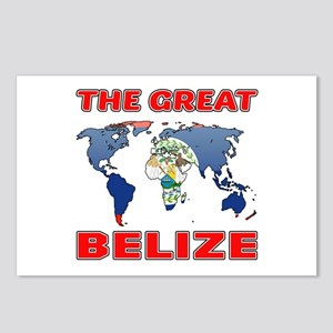 The Great Belize Designs Postcards (Package of 8)