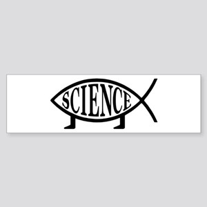Science Fish Bumper Sticker
