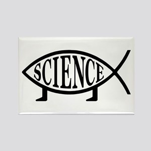 Science Fish Rectangle Magnet