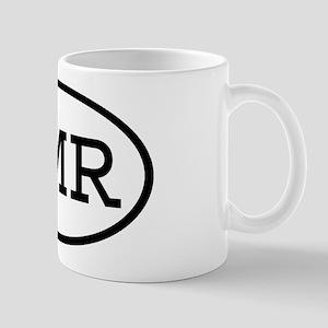 NMR Oval Mug