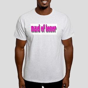 Maid of Honor Casual #1 Ash Grey T-Shirt