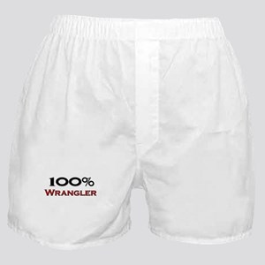 100 Percent Wrangler Boxer Shorts