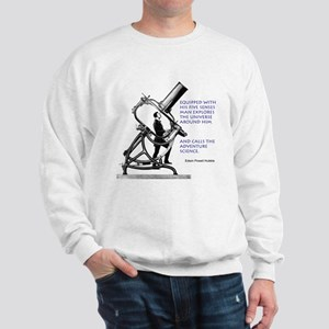 Hubble Quote Sweatshirt