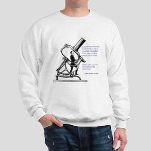 Hubble Quote Sweatshirt
