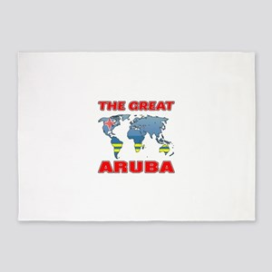 The Great Aruba Designs 5'x7'Area Rug