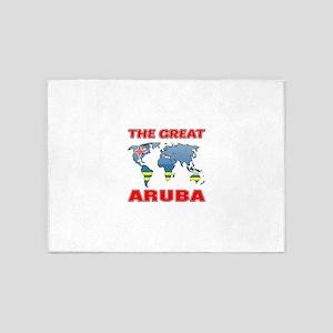 The Great Aruba Designs 5'x7'Area Rug