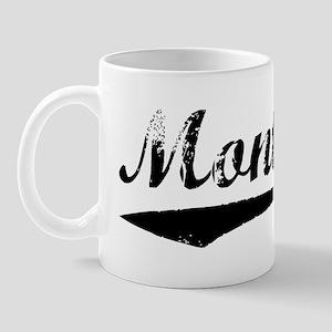 Vintage Montana (Black) Mug