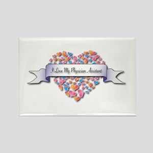 Love My Physician Assistant Rectangle Magnet