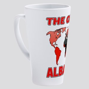 The Great Albania Designs 17 oz Latte Mug
