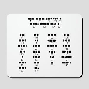 Morse Code -  Mousepad