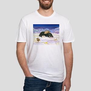 LHBT Dox Cloud Angel Fitted T-Shirt
