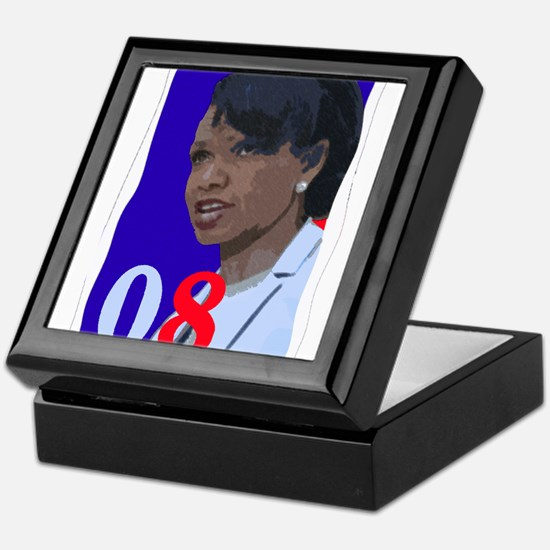Unique Condi president Keepsake Box