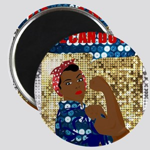 african rosie the riveter Magnets