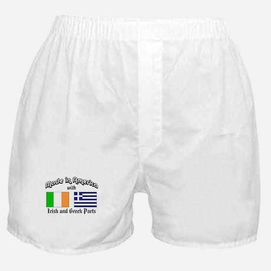 Irish-Greek Boxer Shorts