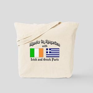 Irish-Greek Tote Bag