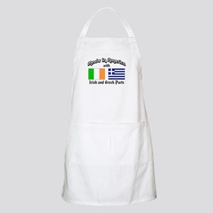 Irish-Greek BBQ Apron