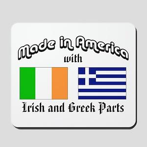 Irish-Greek Mousepad