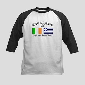 Irish-Greek Kids Baseball Jersey