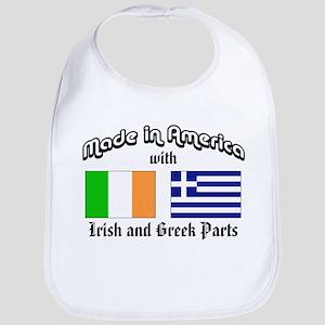 Irish-Greek Bib